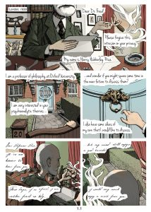 Light in a Darkened Room Freud Graphic Novel